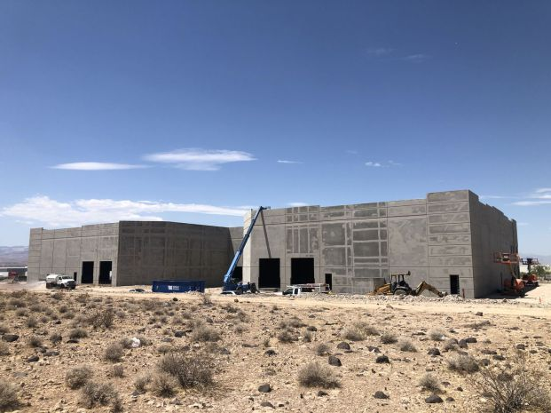 A couple of our next buildings, almost ready for us in Henderson, NV (July 2021)